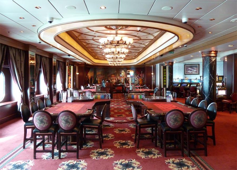 Круизное судно казино